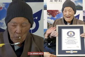 Bí quyết sống thọ 112 tuổi của cụ ông người Nhật lập kỷ lục 'già nhất thế giới'