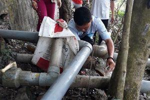 Cơ sở sản xuất phế liệu xả chất thải trực tiếp ra môi trường ở Đồng Tháp