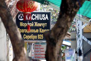 Xuất hiện 'phố Tàu, nước Nga' giữa Nha Trang, cấp quản lý có vấn đề