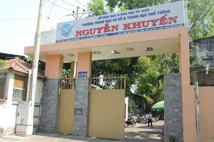 Vụ nam sinh Trường THCS-THPT Nguyễn Khuyến nhảy lầu tự tử, nhà trường nói gì?