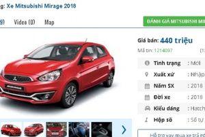 Chiếc ô tô số tự động nhập khẩu 'mới tinh' này đang bán tầm giá 400 triệu tại Việt Nam