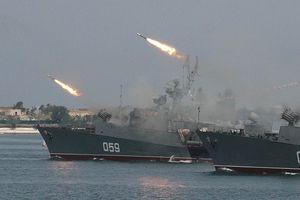 Tàu chiến Nga ở Syria đang theo sát lộ trình của Hải quân Mỹ