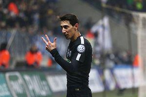 Di Maria lập hat-trick, PSG vào tứ kết cúp quốc gia Pháp