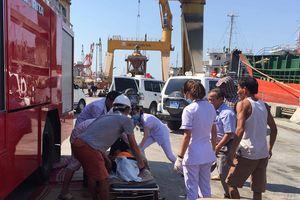 3 thuyền viên chết ngạt khí gas dưới hầm tàu chỉ trong vòng 2 phút