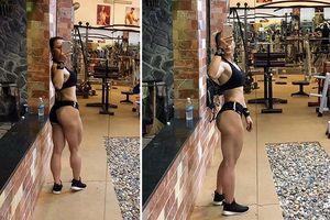 Khoe thành quả tập gym, cô gái trẻ nhận về ý kiến 'ghê quá, nam không ra nam nữ không ra nữ'