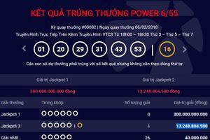 Jackpot 2 liên tục 'nổ', khách may mắn trúng 13 tỷ đồng