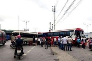Xe khách đối đầu ở Quảng Ninh, 14 người bị thương