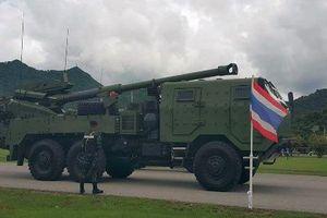 Hết xe tăng, Quân đội Thái Lan lại sắm thêm pháo 'khủng'