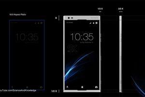 Bản concept Sony Xperia A tuyệt đẹp với màn hình tràn viền ấn tượng