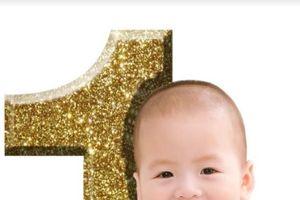 Mẹ 9x trổ tài ghép ảnh 'Baby- Boss' mừng sinh nhật con khiến dân mạng phát cuồng