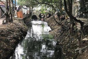 Quận Bắc Từ Liêm: Dân khốn khổ vì sông Cầu Đá ô nhiễm