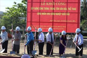 Khánh Hòa: Khởi công xây dựng khu thiết chế văn hóa phục vụ hơn 10 ngàn CNLĐ