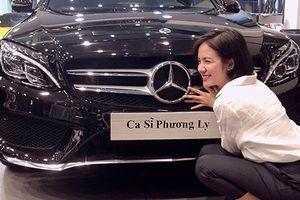 Em gái Phương Linh tậu xe sang Mercedes-Benz C300 gần 2 tỷ