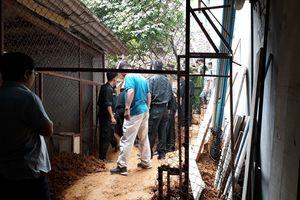 Thi công bờ kè tại Lào Cai, 4 người thương vong 