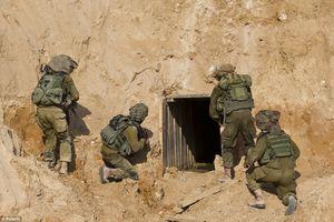 Israel phá hủy đường hầm xâm nhập lãnh thổ của chiến binh Hồi giáo