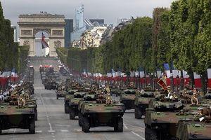 Sức mạnh quân sự các cường quốc vừa không kích Syria