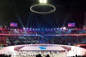 Rực rỡ sắc màu lễ khai mạc Thế vận hội mùa Đông 2018