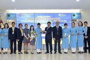 Sân bay Tân Sơn Nhất đạt 6 giải thưởng về dịch vụ mặt đất