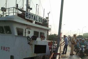 Tin tức mới nhất vụ tàu 'khủng' đâm cầu Đồng Nai