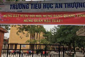 Hà Nội: Thầy giáo bị tố cáo có hành vi dâm ô hàng loạt với học sinh lớp 3