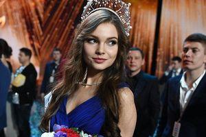 Cô gái 18 tuổi đăng quang Hoa hậu Nga 2018
