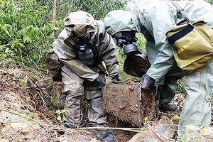 Lực lượng luôn đi đầu trong xử lý, khắc phục sự cố hóa chất độc - xạ