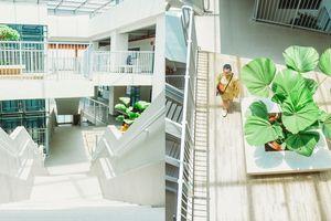 Nhìn trên mạng ảnh cơ sở mới ĐH Văn Lang đẹp thật đấy nhưng ngoài đời liệu có khác xa?