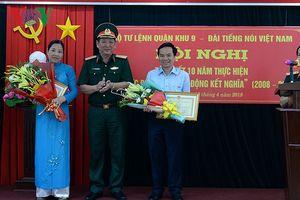 Tổng kết 10 năm thực hiện Quy ước phối hợp giữa VOV và BTL Quân khu 9