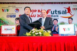 Giải Futsal HDBank 2018 tăng tiền thưởng đội vô địch