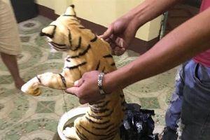 Bắt vụ vận chuyển 2 con hổ trong... bình ngâm rượu
