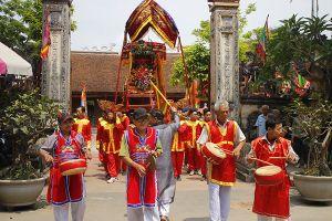 Khôi phục nguyên bản nghi thức rước kiệu chùa Thầy