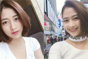 Nữ sinh Nam Định xinh đẹp vượt khó để kiếm tiền ăn học