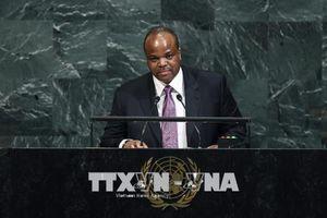 Quốc vương Swaziland đổi tên nước thành Vương quốc eSwatini