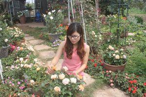 Chết mê chết mệt với vườn hoa hồng 5 tỷ đồng của nữ đại gia 9X
