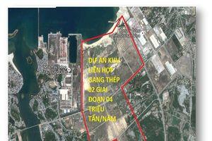 Quảng Ngãi tạo 166 ha đất sạch đón dự án vệ tinh của Khu liên hợp gang thép Hòa Phát Dung Quất