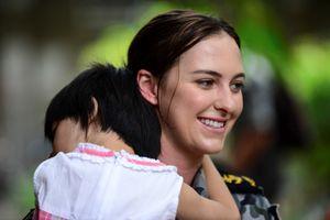 Thủy thủ Australia thăm trẻ khuyết tật TP.HCM