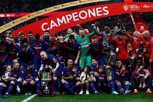 Barcelona đè bẹp Sevilla trong trận chung kết Cúp Nhà vua