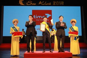 Tima là startup duy nhất lọt Top 10 Sao Khuê 2018