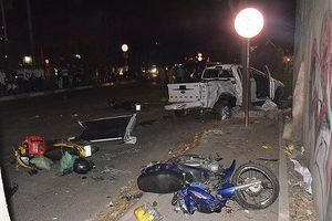 Danh tính lái xe bán tải đâm hàng loạt xe máy trong đêm Sài Gòn