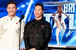 'Cặp đôi vàng' Quốc Cơ, Quốc Nghiệp gây kinh ngạc cho BGK 'Britain's Got Talent'