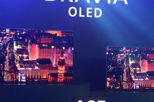 Sony giới thiệu TV OLED A8F đi kèm công nghệ âm thanh 'kịch độc'