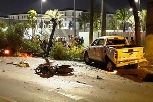 Camera vạch trần tội lỗi tài xế gây tai nạn kinh hoàng ở TPHCM