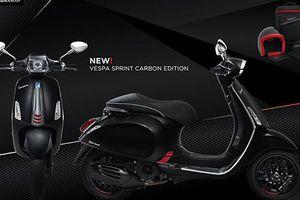 Chi tiết Vespa Sprint Carbon mới giá 76,5 triệu tại VN