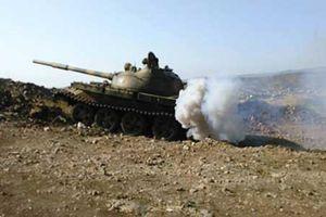 Quân đội Syria công phá thị trấn chiến lược ở Nam Damascus