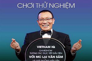 Chơi game trên smartphone cùng MC Lại Văn Sâm