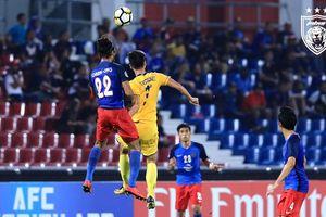 Thua trên đất Malaysia, SLNA mất cơ hội đi tiếp tại AFC Cup 2018