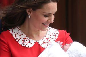 Hình ảnh đầu tiên về thành viên mới nhất của Hoàng gia Anh
