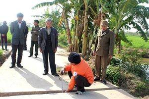 Xã Cẩm Vân (Hải Dương): Công trình xây dựng bị rút ruột đội vốn?