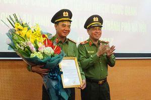 Bổ nhiệm Thủ trưởng Cơ quan An ninh điều tra Công an TP Hà Nội