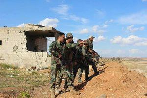 Pháo phản lực Syria trút bão lửa diệt quân thánh chiến phản công tại Hama